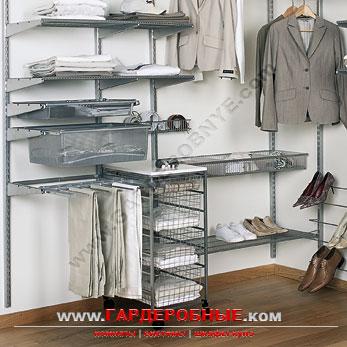 Готовые решения угловая гардеробная комната - www.гардеробны.
